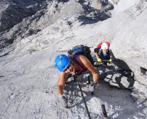 Klettersteig Leopoldsteinersee : Neuer klettersteig auf dem sinabell angst vor schluss
