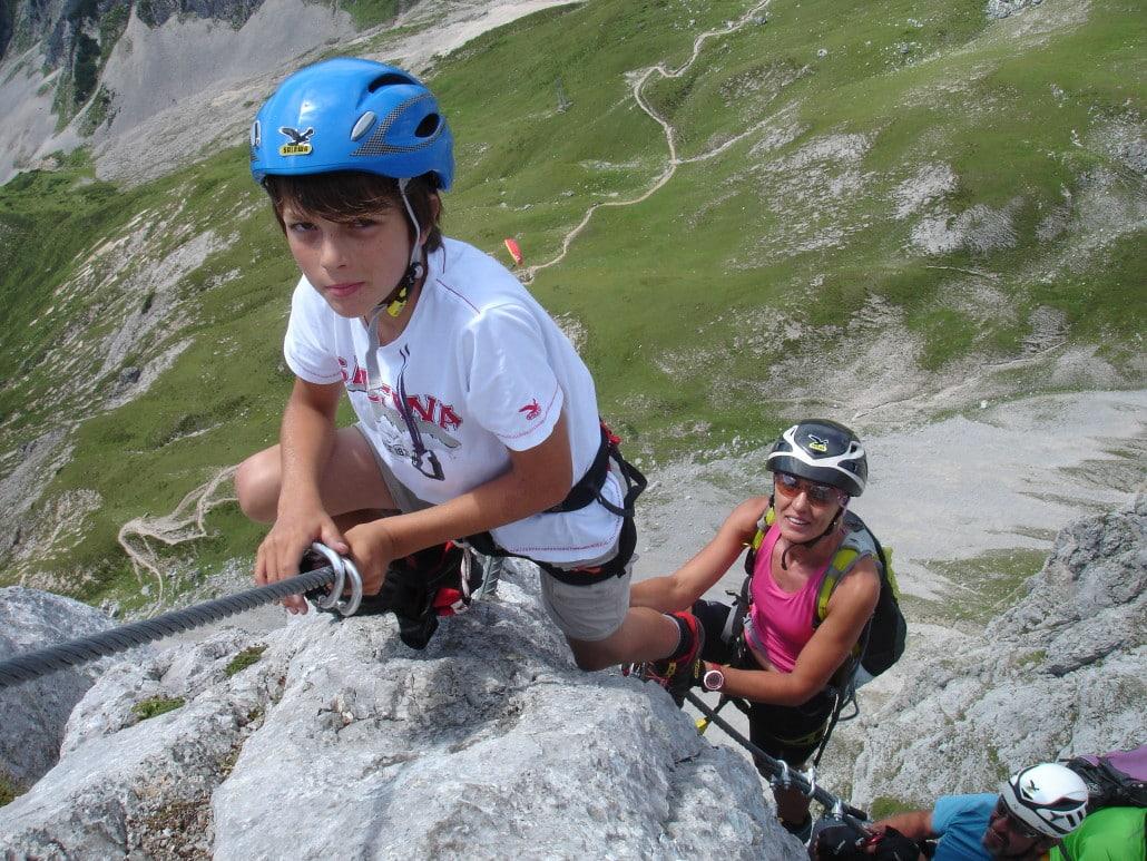 Klettersteig Ausrüstung : Das muss mit auf klettersteig tour